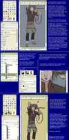 Coloring in GIMP, part 3 by Arpie