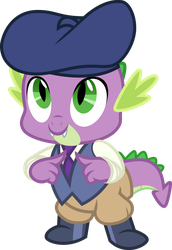 Dapper Spike by Comeha