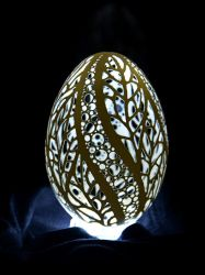 carved goose eggshell 24112013 3 by peregrin71