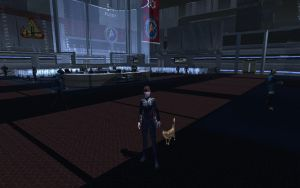 Candy and Shere Khan (Star Trek Online) by suburbantimewaster