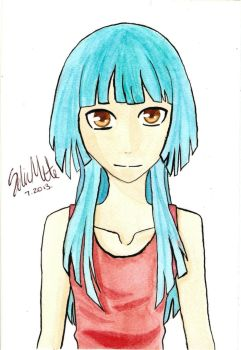 Watercolour Attempt #1 by Hinata4405