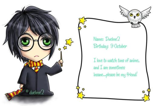 Harry Potter ID by duelme2