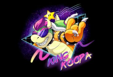 King Koopa Shirt by Robo-Shark