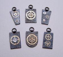 Clockpunk pendants 4 by Astalo