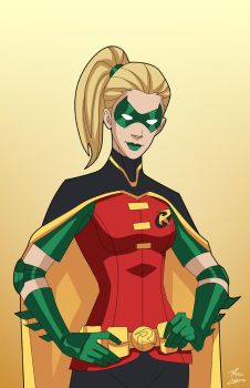 Robin 4.0 (Stephanie Brown) commission by phil-cho