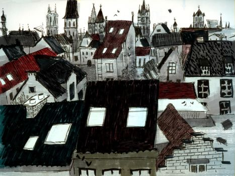 roofs by ecezeber