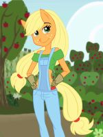 Apple Jack by chaoticteapot
