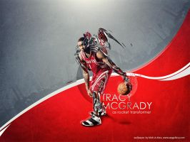 Tracy McGrady by Mish-A-Man