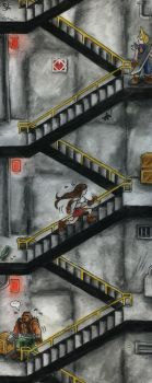 Stairs - FF7 by Merinid-DE