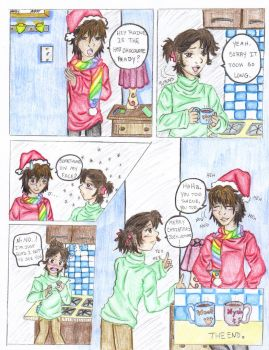 Christmas One page Oneshot by EternalRaine