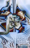 Reflections of a Butterfly by Yenkoff