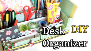 DIY: Desk Organizer by Leviana