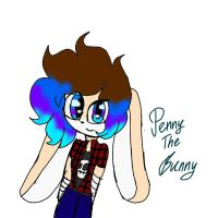 Penny The Bunny My New Oc by astya45