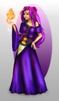 Akina the witch by Shelleyna