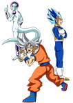 Dragon Ball Super - Universe Seven's Last Stand by elementhedgehog