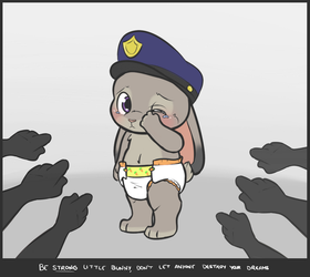 Be Strong, Little Bunny by LetsFallTogether