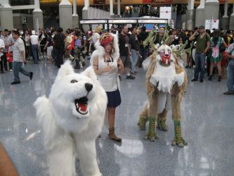 AX 2010 - Princess Mononoke by Giolon