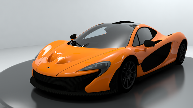 2013 McLaren P1 For XPS by noonenothing
