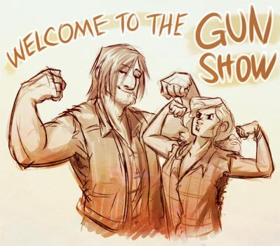 sun's out guns out by unbadger