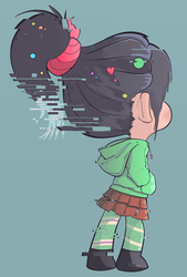Vanellope by Nollaig