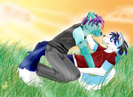 Old request for me and my ex. by Shytzo