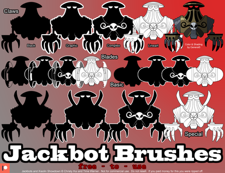 Jackbot Brush Preview by CharactersByChaos