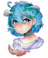 Earth-Chan by PuniceLac
