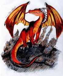Hell's Dragon by Silent-Neutral