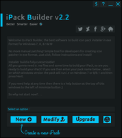iPack Builder v2.2: Tool for icon customization by Mr-Blade