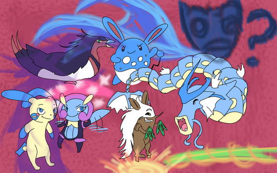 The Final Team: Marriland's Omega Ruby Wedlocke by NiveusSol
