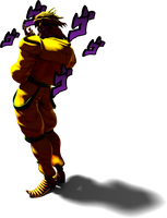 [Blender] DIO in his Shadow DIO Pose by MaxiGamer