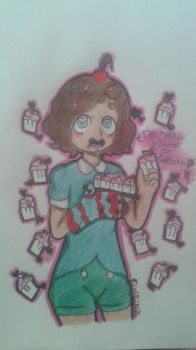(AT) Do you want a cupcake? by xX-Tiger-Kun-Xx