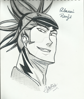 Renji Abarai by ChristineK6277