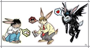 Death Note Stickers by HeidiArnhold