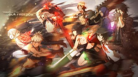 God Eater Wallpaper by Redeye27