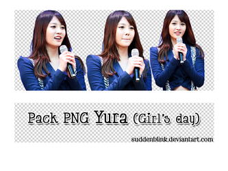 Pack PNG Yura (Girl's Day) by SuddenBlink