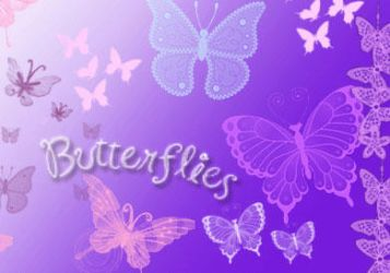 ButterFlies BruSHES.... by rock1rox