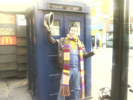 Doctor Who - the Earls Court 'Tardis' [2/2] by DoctorWhoOne