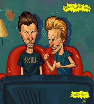 Beavis and Butt-Head by juarezricci