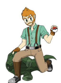 Pokemon Trainer Commissions (see details) by GingerBaribuu