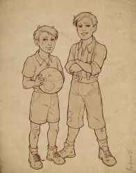 Steve and James by Aniril-Amakiir