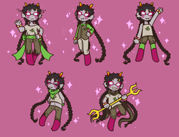 mlm = many lovely meenahs by Falthiere