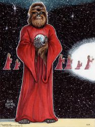 Chewbacca ( Holiday Special ) by Phraggle