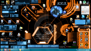 My Rainmeter theme by Noacuracy