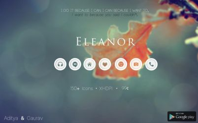 Eleanor Icon Pack by Gaurav93