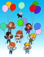 MR and Me: Balloons by AliAvian