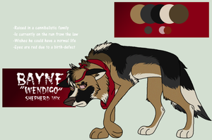 Bayne Ref. by The-Solo-Hero