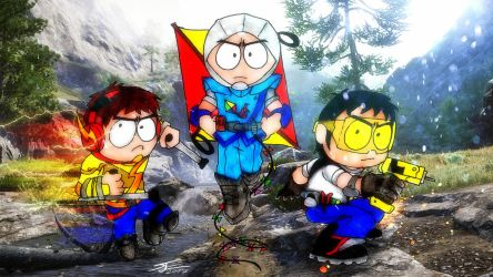 South Park The Fractured But Whole #3 by BlueWolfArtista