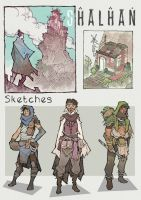 Shalhan sketches by Veritas93