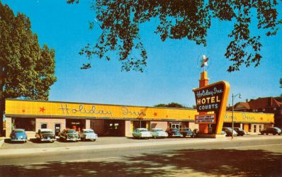 Vintage Motels - Holiday Inn, Memphis TN by Yesterdays-Paper